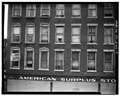 VIEW OF WINDOWS, WEST ELEVATION - Empire Stores, 501-505 State Street, Erie, Erie County, PA HABS PA,25-ERI,9-9.tif