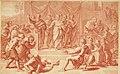 VII tabulae Raphaelis Urbin (graphic) - longe celeberrimae quas hortatu P. Pauli Rubenij Eq. ingenti sumptu emptas in Angliam advehi jussit serenissimus Rex Carolus I. et quibus adservandis magnificam (14766823965).jpg