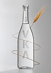 VKA Tuscan Organic vodka bottle
