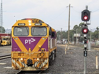 V/Line N class Class of 25 Australian diesel-electric locomotives