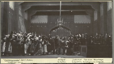 Valborgsmessa, Kungliga teatern 1902. Föreställningsbild - SMV - H13 021.tif