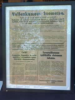 Finnish Peoples Delegation government formed by the Reds in the Finnish Civil War