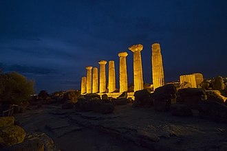 Temple of Heracles, Agrigento - Columns of the Temple of Heracle