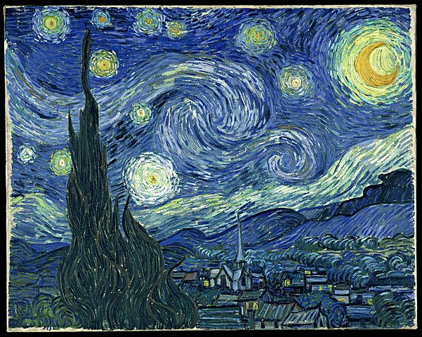 Dynamite image pertaining to starry night printable