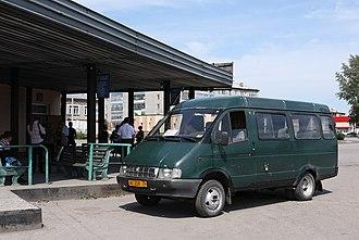 GAZelle - Image: Van in Asino, Russia