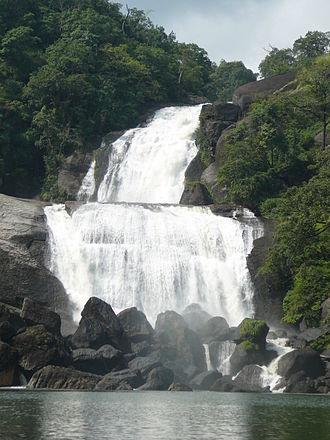 Tamraparni - Vanatheertham waterfalls of Tamraparni river
