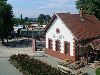 Hungarian Railway History Park - Image: Vasuttorteneti park 009