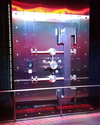 Coca-Cola formula - Vault containing the secret formula at the World of Coca-Cola in Atlanta