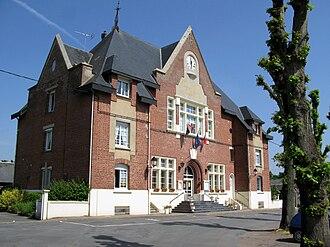 Vermand - Town hall