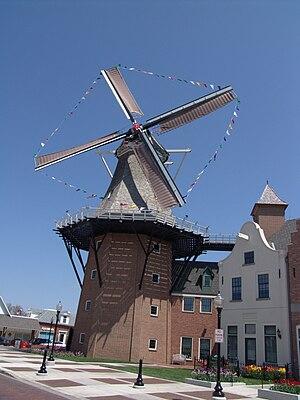 Pella, Iowa - Pella's Vermeer Mill.