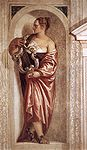Veronese, Paolo - Muse with Lyre - 1560-61.jpg