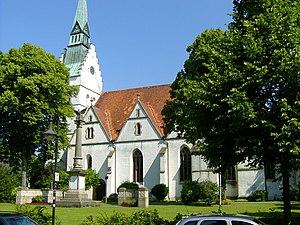 Versmold - St. Petri Church in Versmold