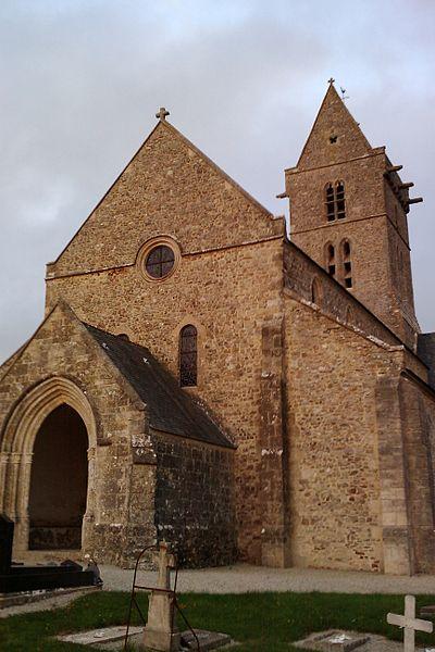 Eglise Saint-Pierre de fr:Vesly (Manche)