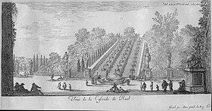 Château de Rueil - Image: Veue de la cascade de ruel