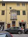 Via san gallo, tabernacolo di pittore fiorentino con assunta tra i ss. agostino, carlo borromeo e agostino, XVIII sec. 01.JPG