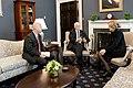 Vice President Pence meets with the White House Coronavirus Response Coordinator (49615654907).jpg