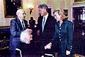 Victor and Sophie Reuther, The President and Mrs. Clinton, The White House, 1995.jpg