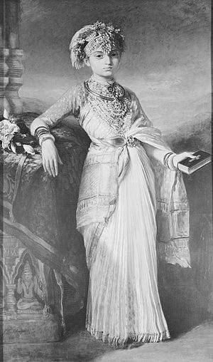 Chikka Virarajendra - Gouramma, who would later become Victoria Gouramma, the daughter of Chikka Virarajendra, was adopted to be taken care by Queen Victoria.