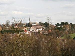 Viesville - The Viesville skyline