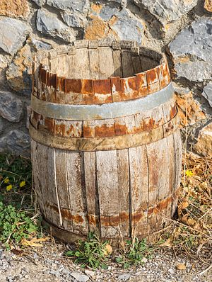 an old barrel