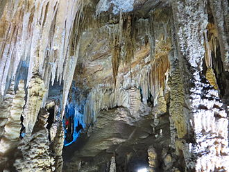 Snowy Jade Cave - Image: View 1 in Snowy Jade Cave, Fengdu County