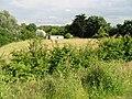 View across field to a caravan park - geograph.org.uk - 478755.jpg