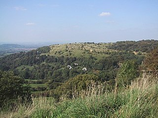 Crickley Hill and Barrow Wake biological and geological Site of Special Scientific Interest in Gloucestershire, notified in 1974