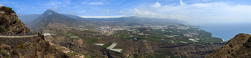 View from Mirador El Time, La Palma