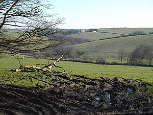 Davidstow - Image: View from Trevivian geograph.org.uk 731246