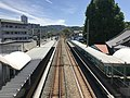 View from overpass of Shimo-Yamato Station (west).jpg