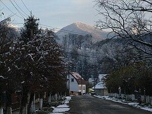 Tălmaciu - Image: View of Talmaciu
