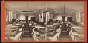 Bath VA Medical Center - Image: View of ward with some residents, by Ackerman Bros