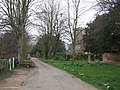 View towards the Manor House - geograph.org.uk - 752108.jpg