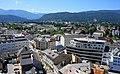 Villach Innere Stadt mit Hans Gasser Platz, Italiener Straße und Westbahnhof.jpg