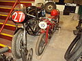 Vintage motorcycle at the Wirral Bus & Tram Show - DSC03287.JPG