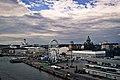 Vista de Helsinki dende o porto.jpg