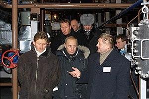 Alexander Ananenkov - Alexander Ananenkov (right)