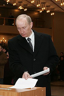 Fairness of the 2008 Russian presidential election