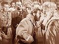 Vladimir Zecevic and Metropolitan bishop Josif in Belgrade, November 1944.jpg