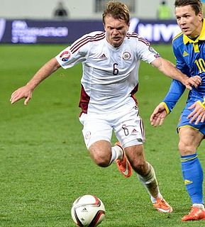 Latvian football player