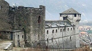 Visconti Castle (Vogogna) Castle in northern Italy