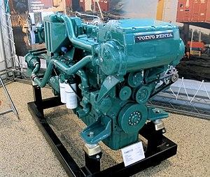 Volvo Penta - A Volvo Penta TAMD120 diesel engine, built 1970-1983