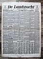 "Voorpagina Vlaams Katholiek dagblad ""De Landwacht"" 14 januari 1944.jpg"