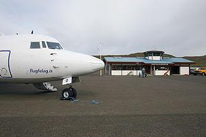 Vopnafjörður Airport - Image: Vopnafjordur Airport