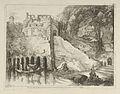 Vue des debris des bains de Neron from Differentes vues dessiné d'après nature... dans les environs de Rome et de Naples MET DP842906.jpg