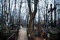 Vvedenskoe cemetery - Two Crusifixions.jpg