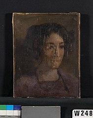 Portretje van Marie Witsen