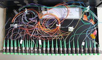 Wavelength-division multiplexing - WDM multiplexer for DWDM communications