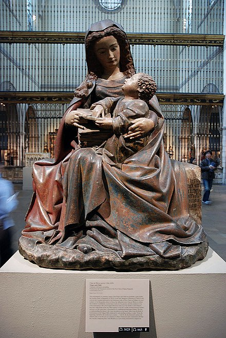 virgin and child by claus de werve Poligny virgin and child this monumental yet engagingly intimate image of the virgin and child was probably a the influential artist claus de werve.