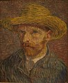 WLA metmuseum Vincent van Gogh Self-Portrait with a Straw Hat.jpg